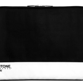 "Case-Scenario Case Scenario Pantone Universe Zip Sleeve Pro 15"" Black ALL SALES FINAL - NO RETURNS OR EXCHANGES"