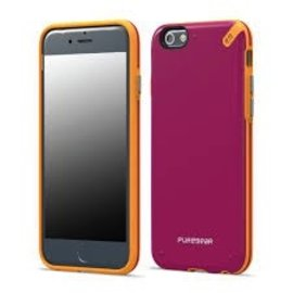 Pure Gear Pure Gear Slim Shell Case for iPhone 6 Plus Sunset Pink ALL SALES FINAL- NO RETURNS OR EXCHANGES