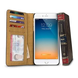 12 South 12 South BookBook Case for iPhone 6 Plus Vintage Brown ALL SALES FINAL - NO RETURNS OR EXCHANGES