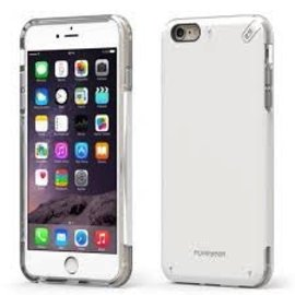 Pure Gear Pure Gear Dual Tek Pro Case for iPhone 6/6s White/Clear