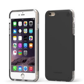 Pure Gear Pure Gear Dual Tek Pro Case for iPhone 6/6s Black/Clear