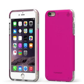 Pure Gear Pure Gear Dual Tek Pro Case for iPhone 6/6s Pink/Clear