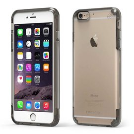 Pure Gear Pure Gear Slim Shell Pro Case for iPhone 6s/6 Plus Clear/Light Gray