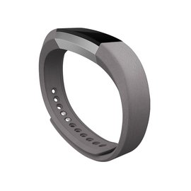 Fitbit Fitbit Alta Accessory Band Leather Graphite Large