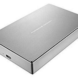 LaCie LaCie 4TB Porsche Design Mobile USB-C Drive (includes USB-C to USB adapter cable)
