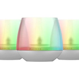 Mipow Mipow Playbulb Candle RGB LED Light Bulb with App Control - 3 pack