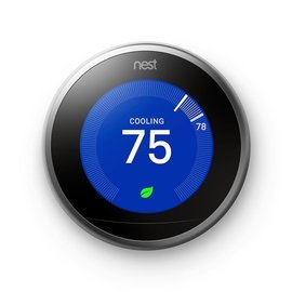 Nest Nest Learning Thermostat 3rd Generation Silver