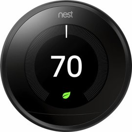 Nest Nest Learning Thermostat 3rd Generation Black
