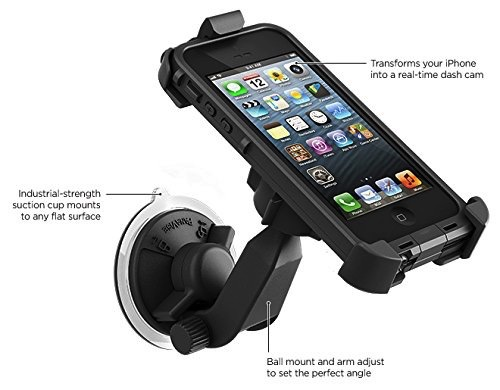 Lifeproof Iphone 5s Case: LifeProof LifeProof Suction Cup Car Mount For IPhone 5/5s