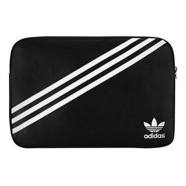 "Adidas Adidas Molded Sleeve for MacBook 15"" - Black/White ALL SALES FINAL - NO RETURNS OR EXCHANGES"