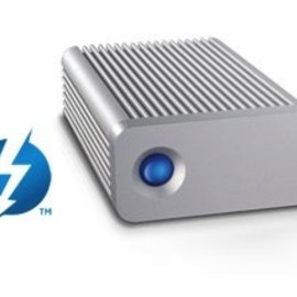 LaCie Give Your Storage a Thunderbolt Upgrade.