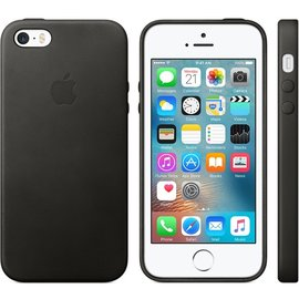 Apple Apple Leather Case for iPhone SE/5s/5 - Black