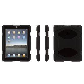 Griffin Griffin Survivor All-Terrain Case for iPad 2/3/4 - Black/Black