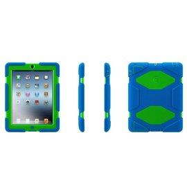 Griffin Griffin Survivor All-Terrain Case for iPad 2/3/4 - Blue/Green