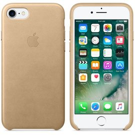 Apple Apple Leather Case for iPhone 7 - Tan ALL SALES FINAL - NO RETURNS OR EXCHANGES