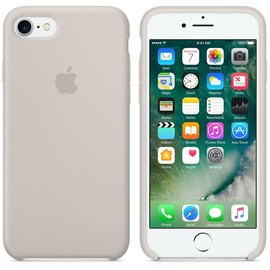 Apple Apple Silicone Case for iPhone 7 - Stone ALL SALES FINAL - NO RETURNS OR EXCHANGES