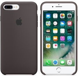 Apple Apple Silicone Case for iPhone 7 Plus - Cocoa ALL SALES FINAL - NO RETURNS OR EXCHANGES