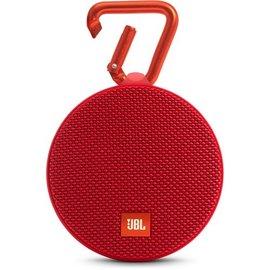 JBL JBL Clip 2 Waterproof Bluetooth Speaker Red ALL SALES FINAL NO RETURNS OR EXCHANGES