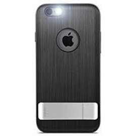 Moshi Moshi Kameleon Case for iPhone 6 Plus Steel Black ALL SALES FINAL - NO RETURNS OR EXCHANGES