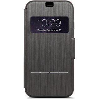 Moshi Moshi SenseCover Case for iPhone 8/7 Plus Steel Black