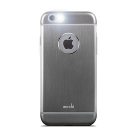Moshi Moshi iGlaze Armour Case for iPhone 6/6s Gunmetal Gray