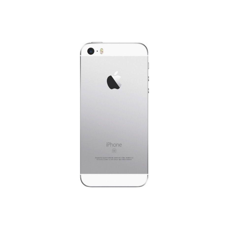 apple apple iphone se 128gb silver unlocked and sim free. Black Bedroom Furniture Sets. Home Design Ideas