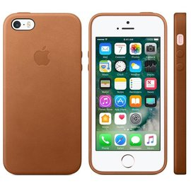Apple Apple Leather Case for iPhone SE/5s/5 - Saddle Brown