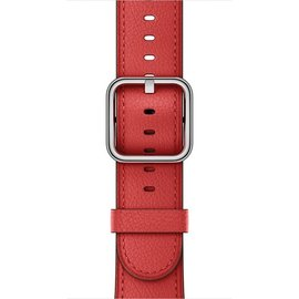 Apple Apple Watch Band 38mm Red Classic Buckle 130-195mm (ATO)