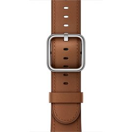 Apple Apple Watch Band 38mm Saddle Brown Classic Buckle 130-195mm (ATO)