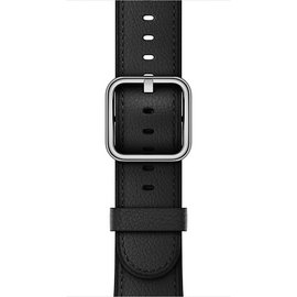 Apple Apple Watch Band 42mm Black Classic Buckle 150-215mm (ATO)