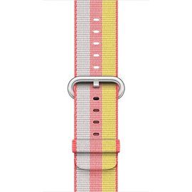 Apple Apple Watch Band 42mm Red Stripe Woven Nylon 145-215mm (ATO)