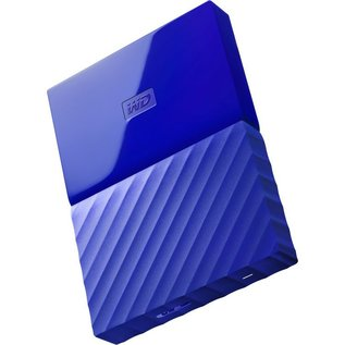 Western Digital Western Digital 1TB My Passport USB 3.0 Portable Hard Drive - Blue