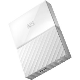 Western Digital Western Digital 1TB My Passport USB 3.0 Portable Hard Drive - White