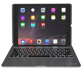 ZAGG ZAGG Slim Book Wireless Keyboard Case w/ Backlight for iPad Pro 9.7 Black ALL SALES FINAL - NO RETURNS OR EXCHANGES