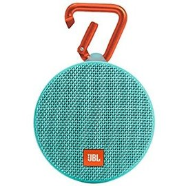 JBL JBL Clip 2 Waterproof Bluetooth Speaker Teal ALL SALES FINAL NO RETURNS OR EXCHANGES