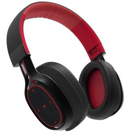 BlueAnt BlueAnt Pump Zone Over-Ear Bluetooth Headphones - Red