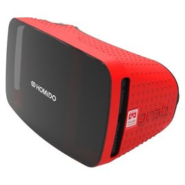 Homido Homido Grab Virtual Reality Headset for Smartphones Red