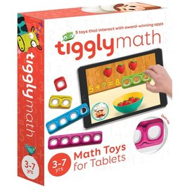 Tiggly Tiggly Math Interactive Learning Toy for Tablets
