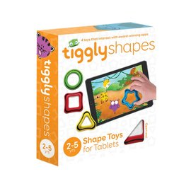 Tiggly Tiggly Shapes Interactive Learning Toy for Tablets