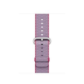 Apple Apple Watch Band 38mm Berry Check Woven Nylon 125-195mm (ATO)