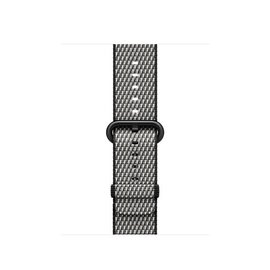 Apple Apple Watch Band 38mm Black Check Woven Nylon 125-195mm (ATO)