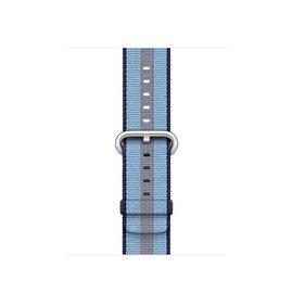 Apple Apple Watch Band 38mm Midnight Blue Stripe Woven Nylon 125-195mm (ATO)