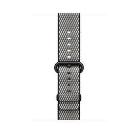 Apple Apple Watch Band 42mm Black Check Woven Nylon 145-215mm (ATO)