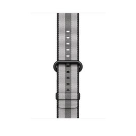 Apple Apple Watch Band 42mm Black Stripe Woven Nylon 145-215mm (ATO)