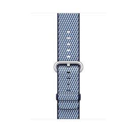 Apple Apple Watch Band 42mm Midnight Blue Check Woven Nylon 145-215mm (ATO)