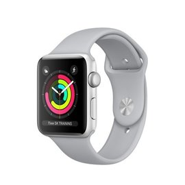 Apple Apple Watch Series 3 (GPS), 42mm Silver Aluminum Case with Fog Sport Band 140-210mm
