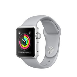 Apple Apple Watch Series 3 (GPS), 38mm Silver Aluminum Case with Fog Sport Band 130-200mm