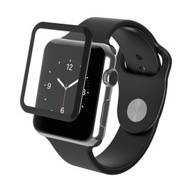 ZAGG ZAGG InvisibleShield Glass Luxe HD Clarity Screen Protector for Apple Watch Series 2 38mm Black (WSL)