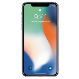 Apple Apple iPhone X 256GB Silver (Unlocked and SIM-free)