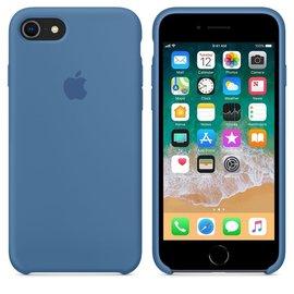 Apple Apple Silicone Case for iPhone 8/7 - Denim Blue